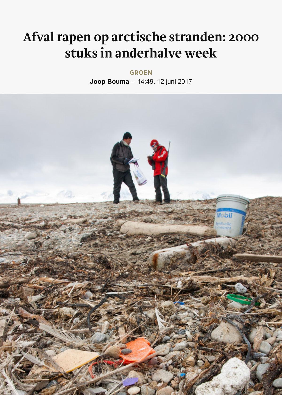 Trouw-2017-06-12-Arctic-Litter-1